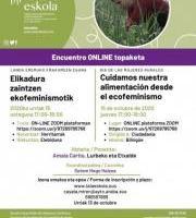 Online Topaketa - Elikadura zaintzen ekofeminismoak