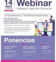 Webinarra: Epilepsia, cognición, educación