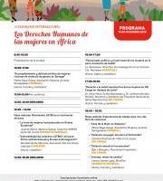 Inscripciones: II Seminario Internacional – Los Derechos Humanos de las Mujeres en África