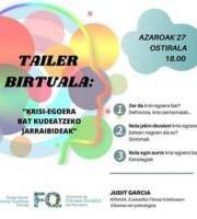 Tailer Birtuala: Pautas para manejar una situación de crisis / Krisi-egoera bat kudeatzeko jarraibid
