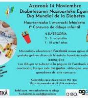 Diabetesaren Nazioarteko Eguna - Marrazki lehiaketa