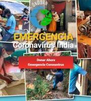 Calcuta Ondoan: Larrialdia / Emergencia (Coronavirus India) Egin ekarpen bat / Dona