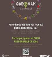 Gabonak Arduratsu / Navidades Responsable