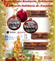 Caritas Gipuzkoaren Aldeko Eguberriko Kontzertu Solidarioa