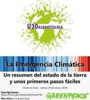 Greenpeace Euskadi -  Hitzaldia