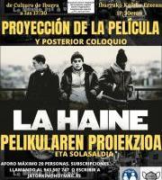 Proiekzioa eta Solasaldia: La Haine