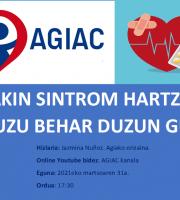 Hitzaldia: Jakin Sintrom Hartzen Baduzu Behar Duzun Guztia