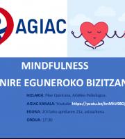 Hitzaldia: Mindfulness Nire Eguneko Bizitzan