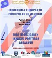 Hitzaldia: Zure negozioaren inpaktu positiboa areagotu