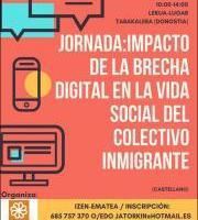 Jardunaldia: Impacto de la brecha digital en la vida social del colectivo inmigrante