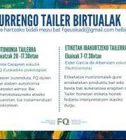 FQ Euskadi - Tailer berriak!! / ¡Nuevos talleres!