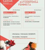 Formakuntza: Autodefentsa Feminista Ikastaroa