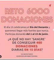 Euskadiko Odol Emaileen 6000 Donazioen Erronka