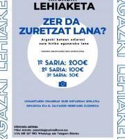"""Argazki lehiaketa: """"Zer da zuretzat lana?""""- """"¿Qué es para ti el trabajo?."""