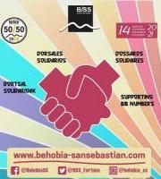 ADELA EH es dorsal solidario en la Behobia-San Sebastián 2021.