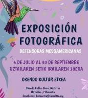 Argazki erakusketa: Defensoras Mesoamericanas