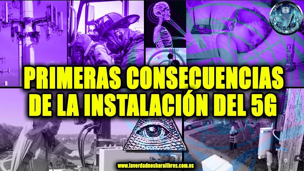 PRIMERAS CONSECUENCIAS DE LA INSTALACIÓN DEL 5G