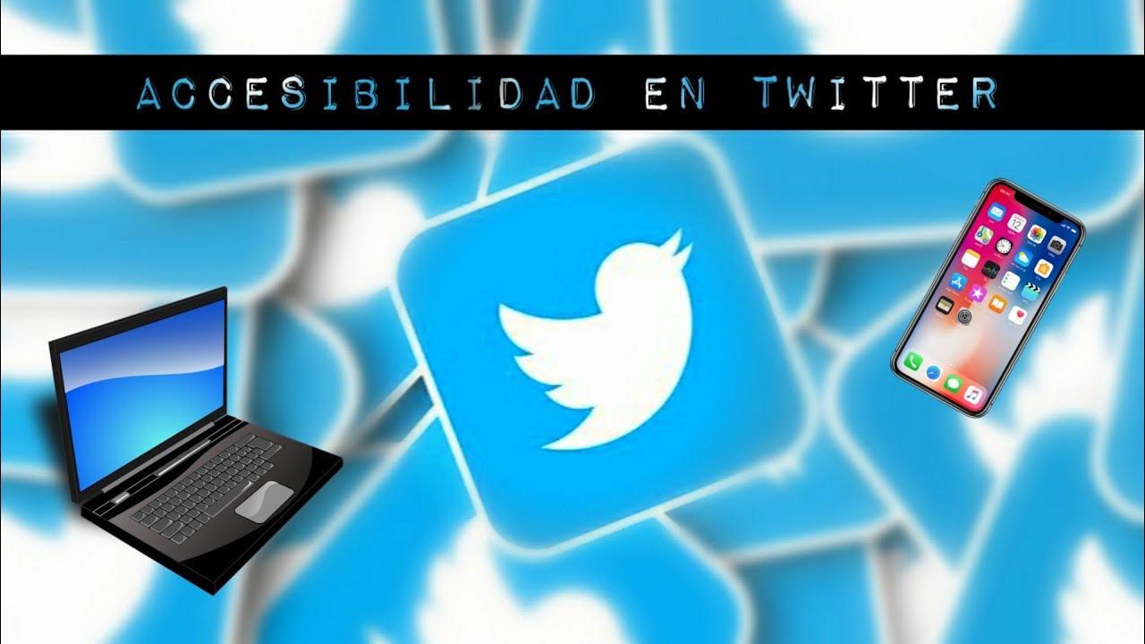 Accesibilidad en Twitter. Tutorial para hacer imágenes y gifs accesibles - #TecnoGlirp