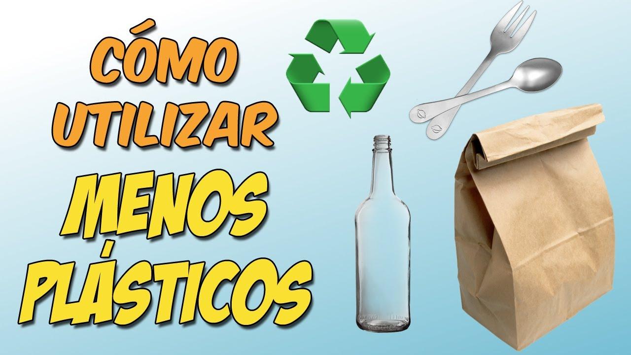¿Qué podemos hacer para reducir el consumo de plásticos?