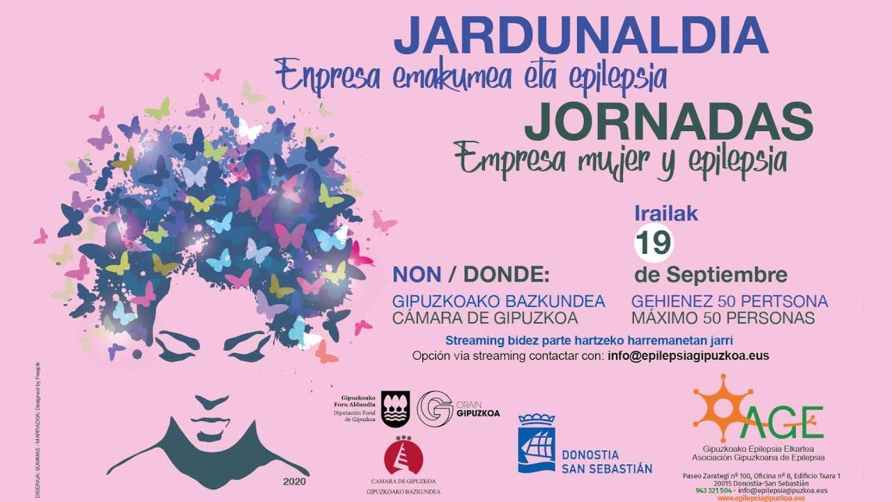Jardunaldia Enpresa emakumea eta epilepsia / Jornadas Empresa mujer y epilepsia (EDITADO)