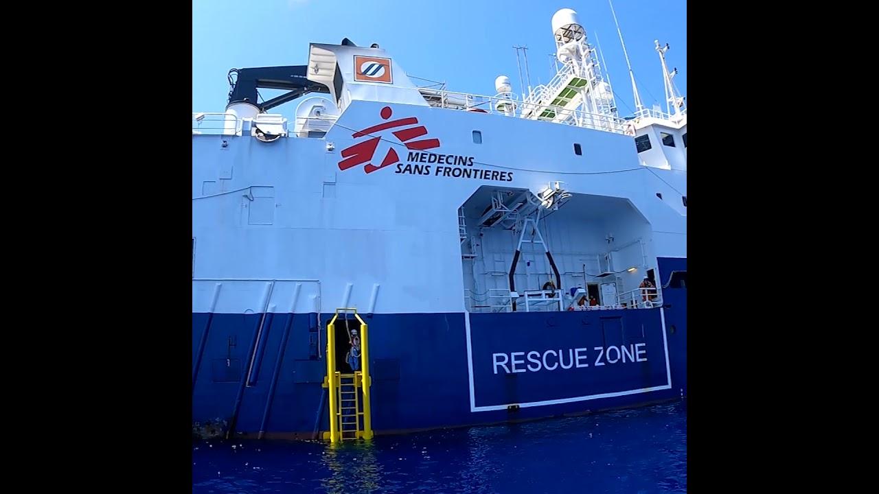 Rescate del Geo Barents en el Mediterráneo