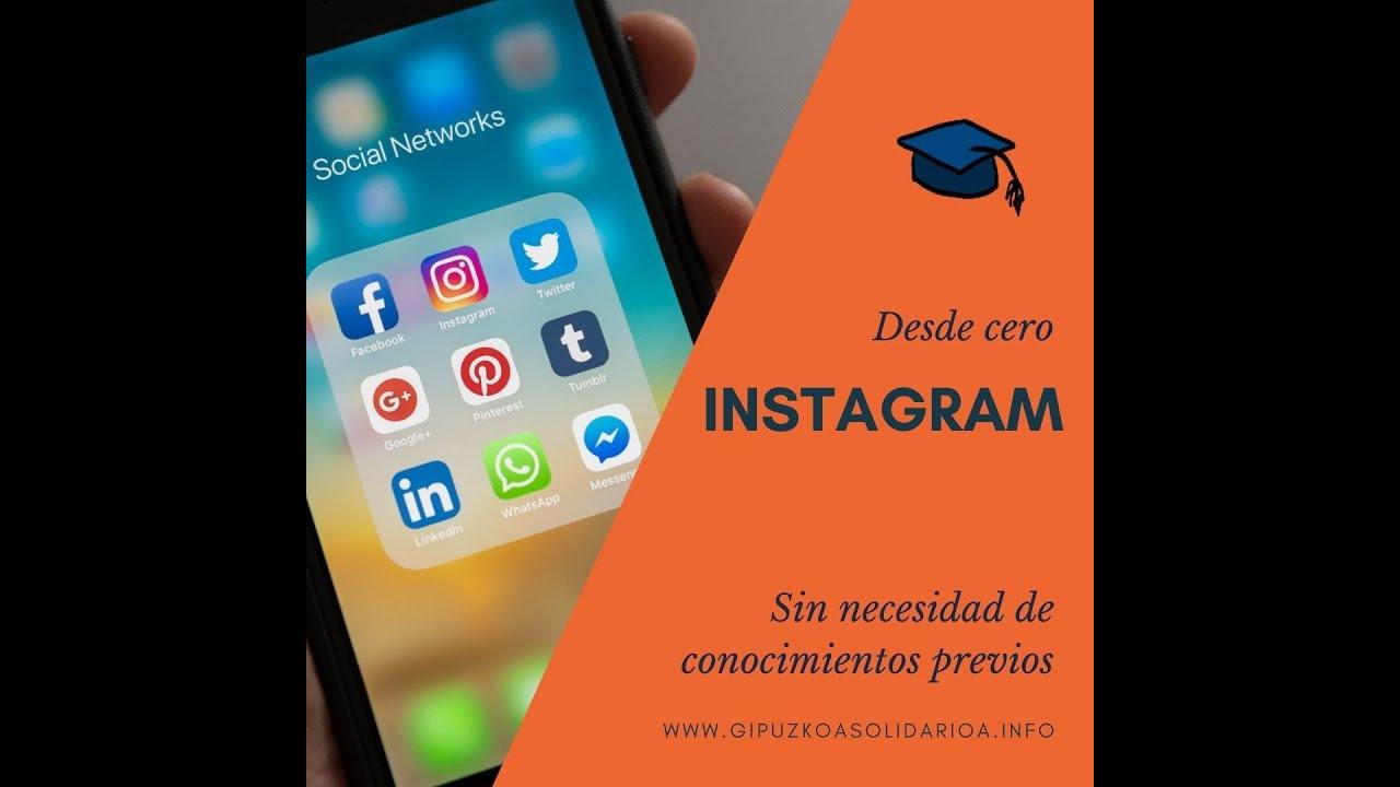 Formación Completa de INICIACIÓN A INSTAGRAM 2021 | Iniciación en las Redes Sociales