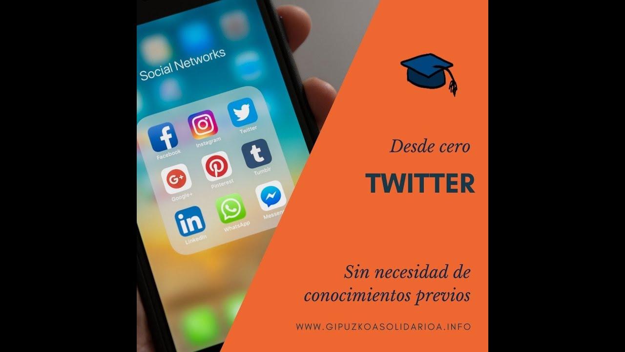 Formación Completa de Iniciación a Twitter 2021 | Iniciación en las Redes Sociales