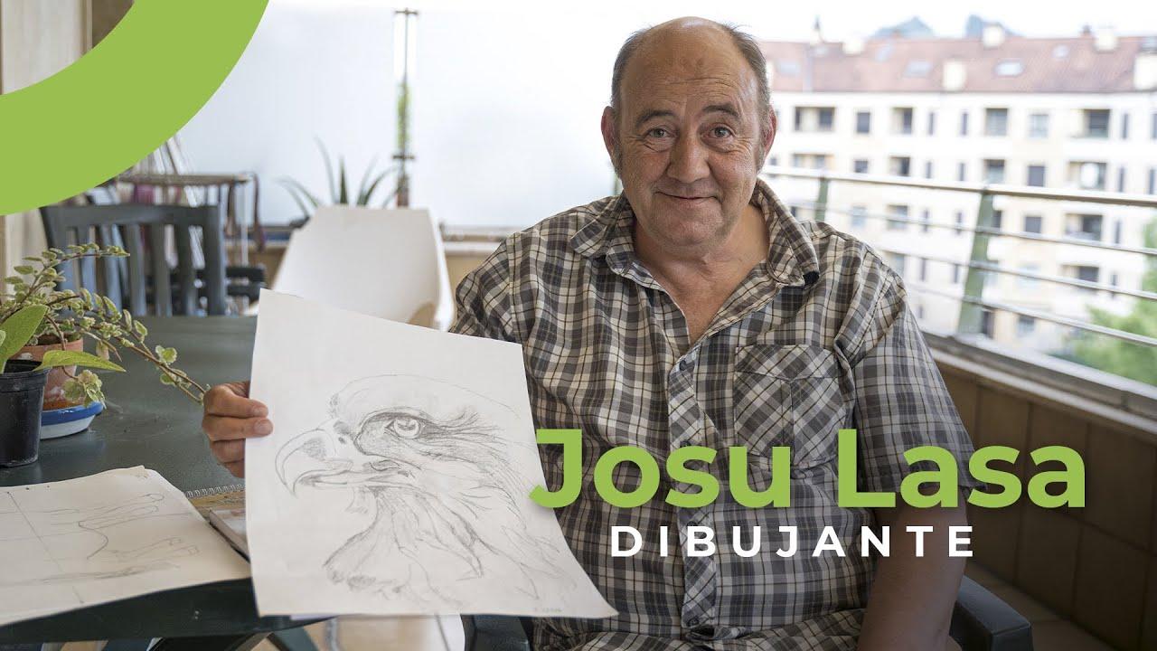 El dibujo como terapia: Josu Lasa nos cuenta su experiencia